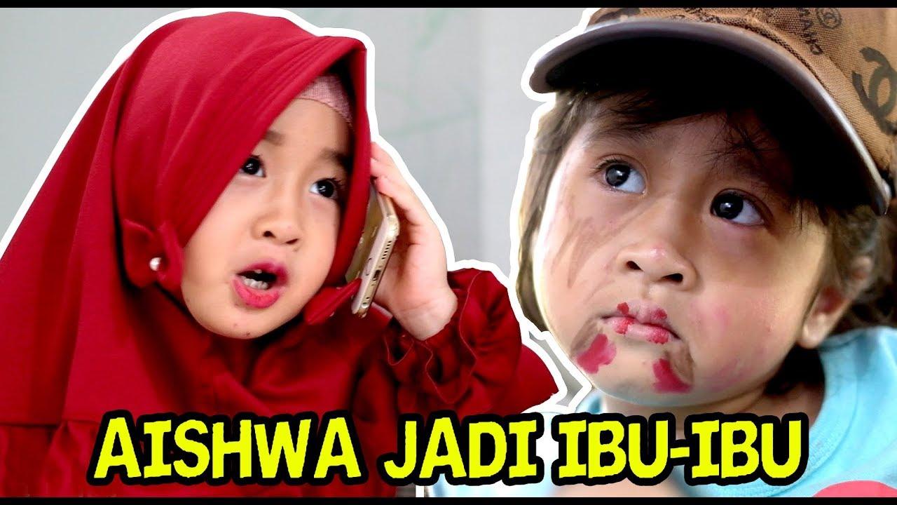 AISHWA JADI IBU 3 ANAK (VLOG) :)=