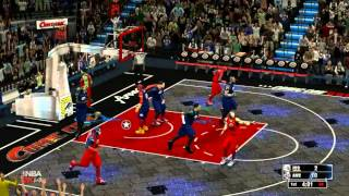 NBA 2K14 HULK 2 SLAM DUNKS