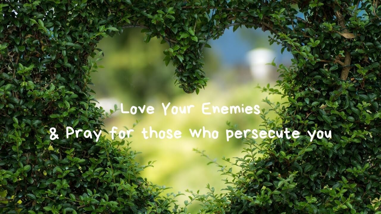 Are You A Murderer?/Forgiving Those Who Persecute