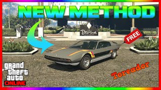 NEW WAY! - How To Win The New Lucky Wheel Podium Car Every Single Time GTA Online Vehicle-Toreador