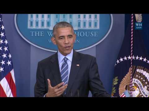 President Obama Holds a Press Conference