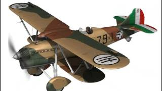 Fiat CR.32 - Italy Airforce - 79 Squadriglia 3D model from CGTrader.com
