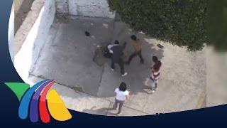 Golpean brutalmente a policía en Morelos