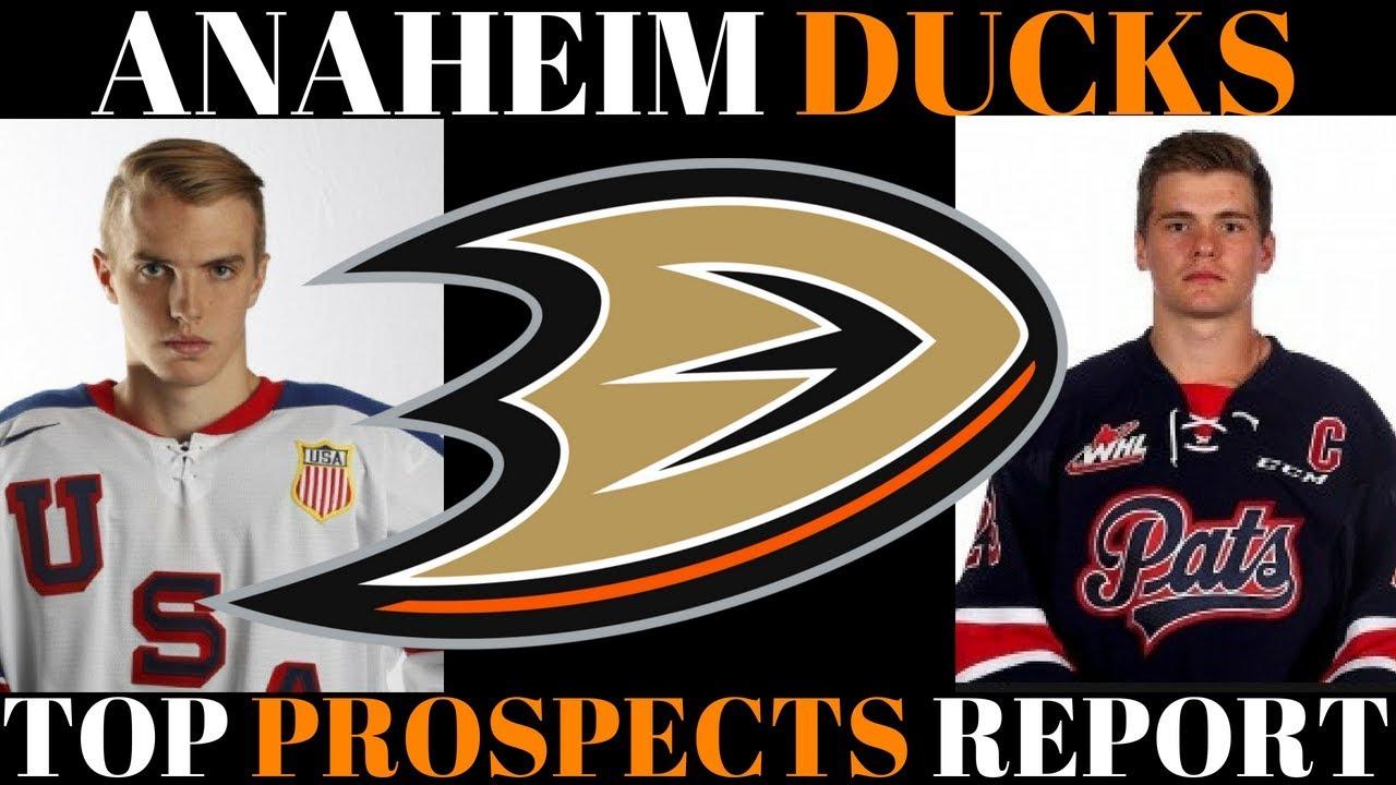 5b2f0594b1a TOP NHL PROSPECTS 2018 - ANAHEIM DUCKS - YouTube