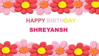 Shreyansh   Birthday Postcards & Postales - Happy Birthday