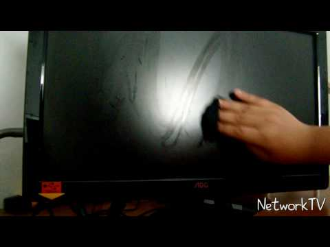 Best Way To Clean Your LCD monitor!