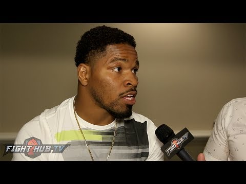 """Shawn Porter to Keith Thurman """"NO ONE IS GONNA FIGHT YOU BEFORE I FIGHT YOU!"""""""