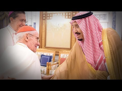 Saudi Arabia's King Salman meets Vatican official to confront violence and extremism