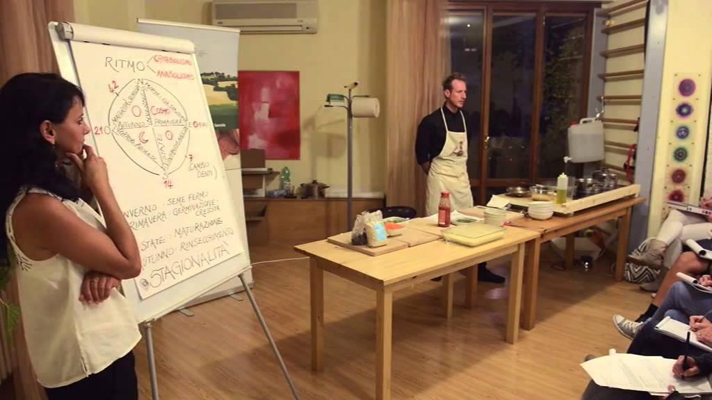 Bio Academy  lezione di cucina naturale  dieta in funzione dellet e della stagione  YouTube