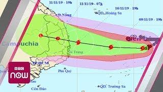 Khi nào bão số 6 đổ bộ đất liền?