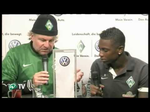 Volkswagen-Talk mit Eljero Elia