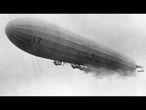 German zeppelins launch first air raid against Britain - 1/19/1915
