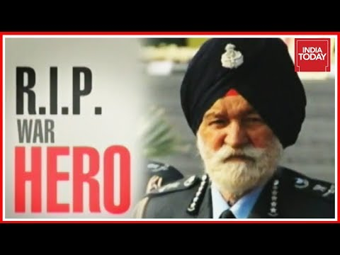 Exclusive: State Funeral For Marshal Of The Air Force Arjan Singh