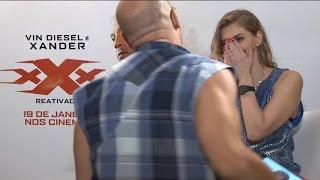 El interminable acoso de Vin Diesel a una periodista brasileña