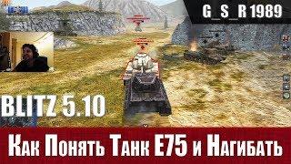 WoT Blitz - Почему Е75 лучший тяж на уровне и как играть - World of Tanks Blitz (WoTB)
