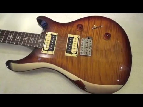 My Guitar Collection  (10) PRS SE Custom 24 Review