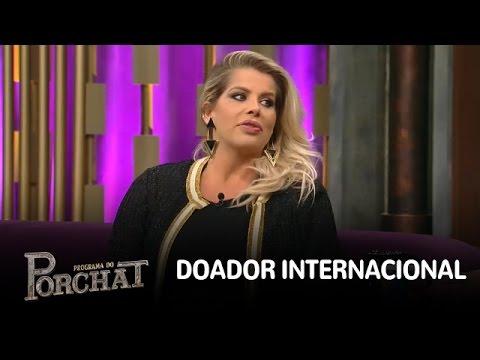 Karina Bacchi explica por que preferiu doador internacional em fertilização