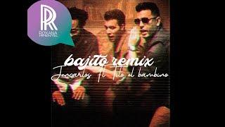 Jencarlos Canela ft. Tito El Bambino &  Ky-Mani Marley - Bajito Remix (Lyric Video)