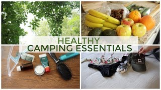 What I Packed for Camping! | Healthy Snacks & Essentials 🌳