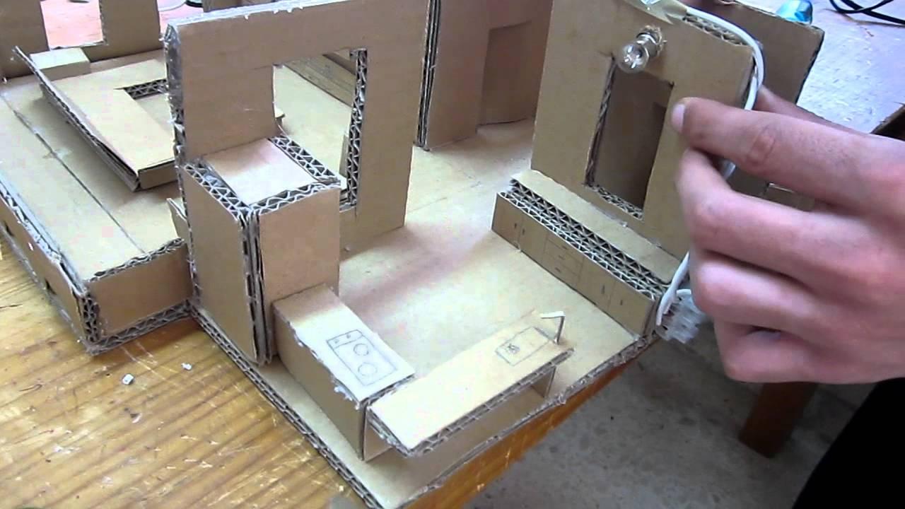 Taller tecnolog a instalaciones el ctricas 3 habitaciones for Sillas para una maqueta
