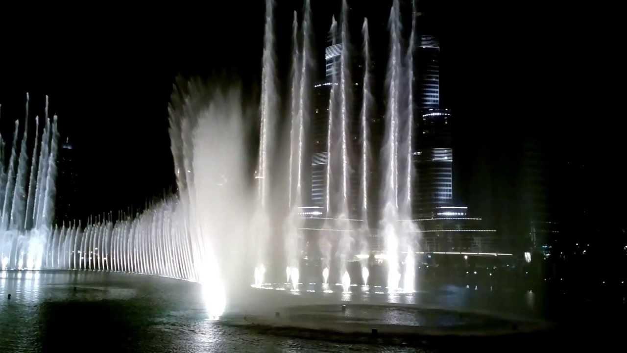 Kết quả hình ảnh cho nhạc nước Burj Khalifa
