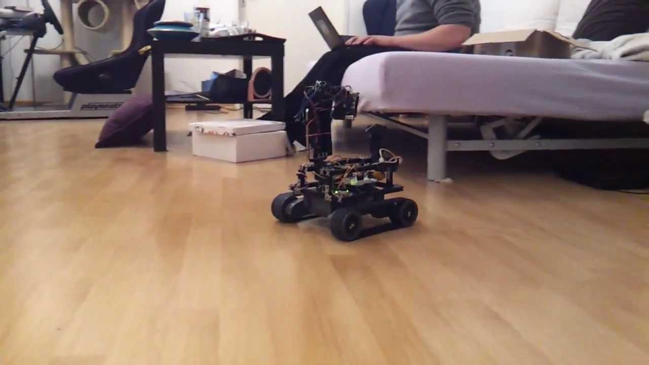 Arduino autonomous robot fun cat inside youtube
