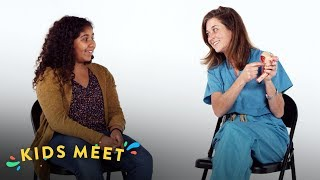 Kids Meet A Gynecologist (Davina) | Kids Meet | HiHo Kids