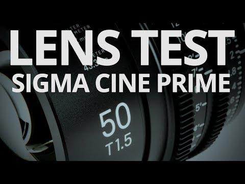 Sigma 50mm T15 Cine Prime - Lens Test 🎥
