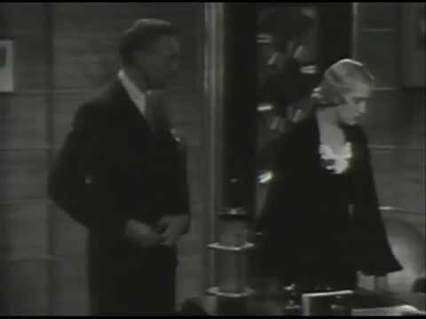 Warren William is shot!! 1932  *Sky Scraper Souls*  Pre Code Classic  Verree Teasdale jumps.