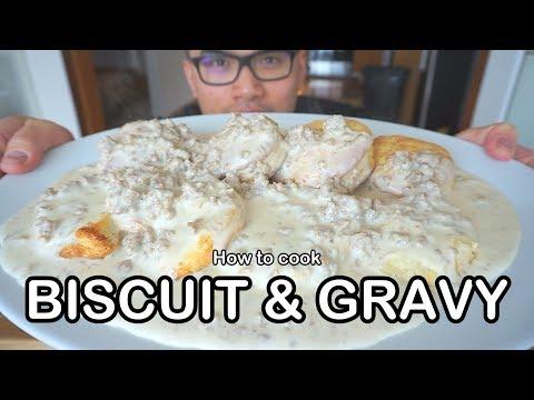 How to cook BISCUIT & SAUSAGE GRAVY