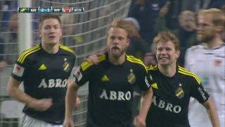 Sundgren säker från straffpunkten och ger AIK 2-1 mot Kalmar - TV4 Sport