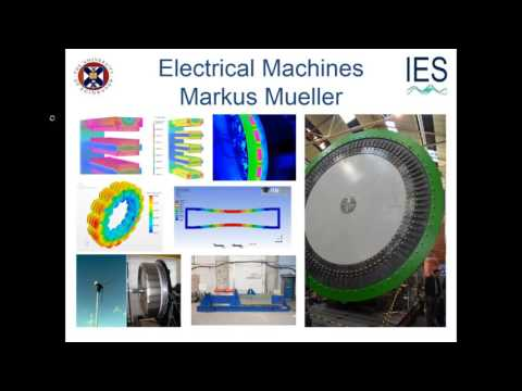 Prof. Markus Mueller's Research Interests - Electrical Machines