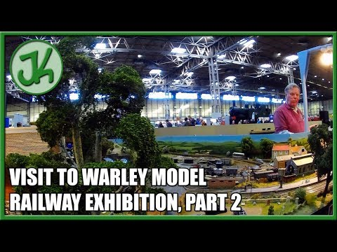 Visiting Warley Model Railway Exhibition, part 2  JennyCam 44