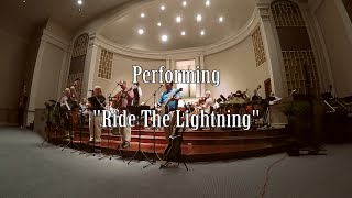 """Ride the Lightning"" Iron Horse LIVE with Orchestra Sul Ponticello"