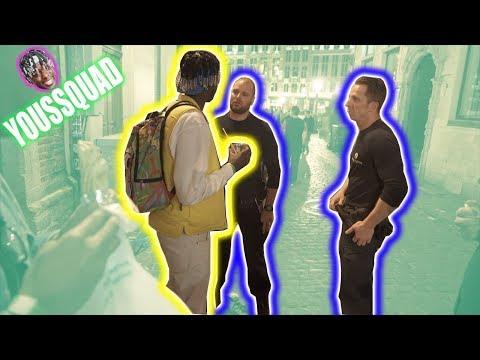 RECHERCHÉ PAR LA POLICE DE BRUXELLES ( la description ils cherchent un noir en jaune ) YOUSSQUAD #4