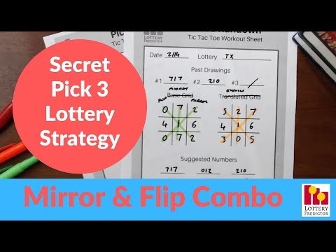 Secret Lottery Strategy To Win Pick 3 - February 2019 - YouTube