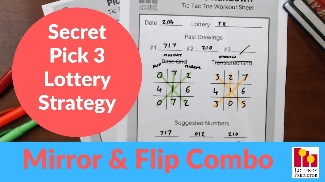 Secret Lottery Strategy To Win Pick 3 - February 2019