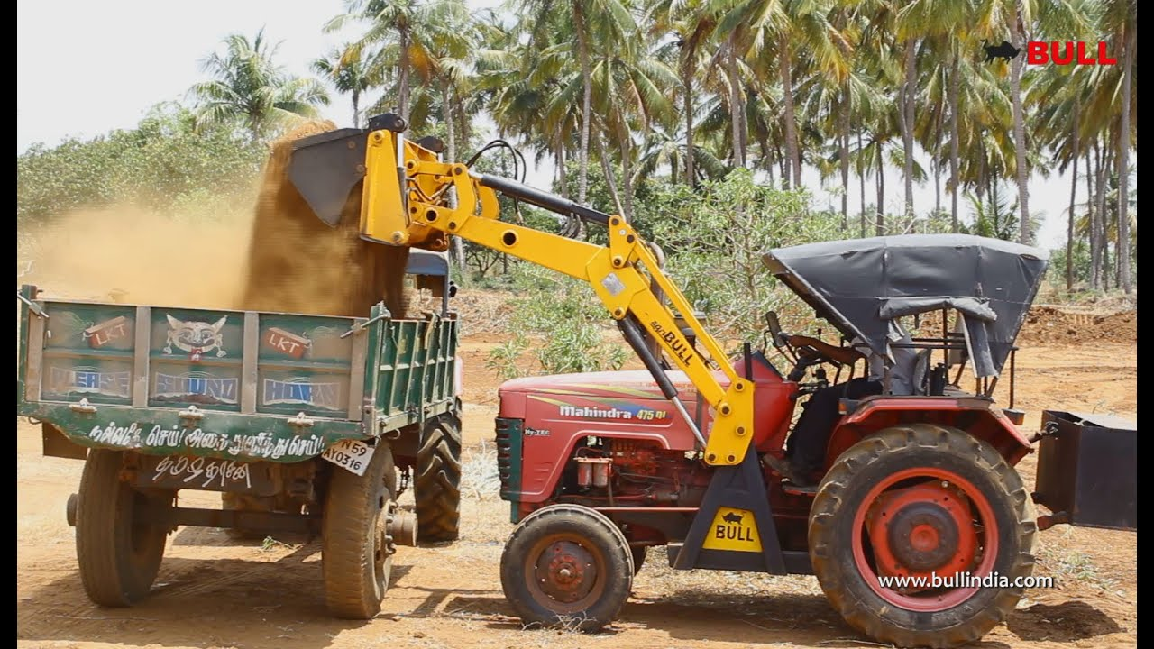 Agri Bull India's no:1 Tractor Attchment on Mahindra