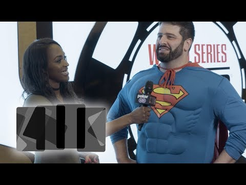 A Quick Chat With Superman - 2017 WSOP 411 - Poker Central - 동영상