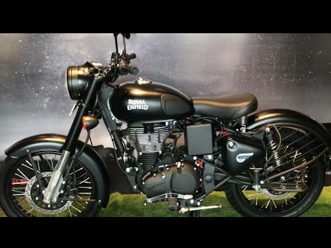 Royal Enfield Classic 350 New colours Gunmeral Grey and Stealth Black Walkaround