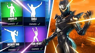 *NEW* FORTNITE SEASON 4 LEAKED DANCES IN STORE! (True Heart, Sparkler, Infinite Dab, Eagle, Bring)