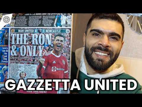 Newspapers React To Cristiano Ronaldo Show! | Gazzetta United