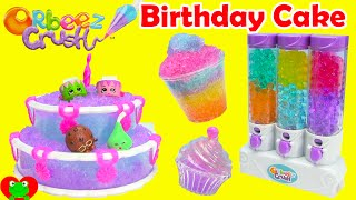 Orbeez Crush Sweet Treats Playset with Shopkins Season 3 and Birthday Cake