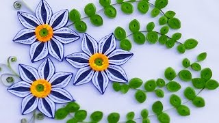 quilling artwork   A Beautiful greeting card made easy for this new year