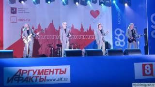 """ВИА """"Пламя"""" на Дне города - 2016 в Зеленограде. """"Не повторяется такое никогда"""""""