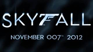 [LEAKED] Skyfall Theme Song James Bond 23