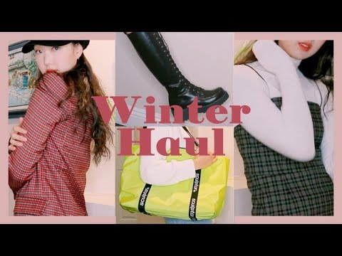 WINTER FASHION TRY-ON HAUL