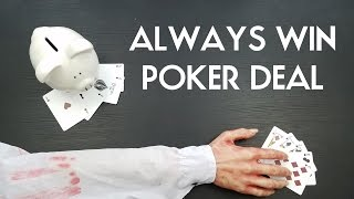POKER GAME THAT YOU ALWAYS WIN PigCake Tutorials