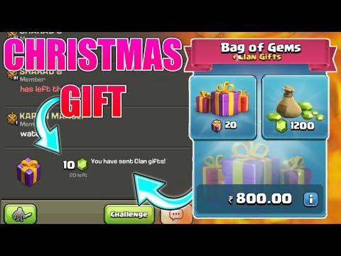 LET'S SEND CHRITSMAS GIFT TO MY CLANMATES ; AND SHOW YOU MY CLANMATES REACTION