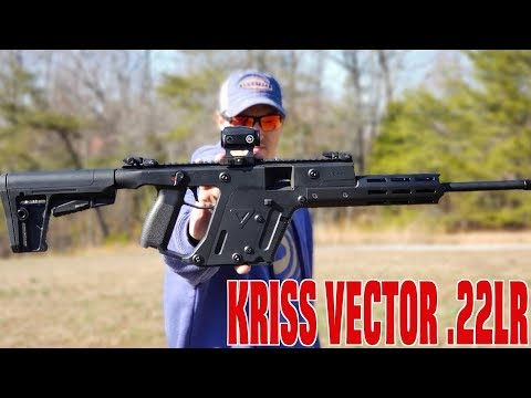 KRISS VECTOR 22LR FULL REVIEW